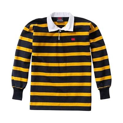 [カンタベリー] ラガーシャツ NZ STRIPE RUGBY JE ボーイズ 55 日本 XL (日本サイズXL相当)