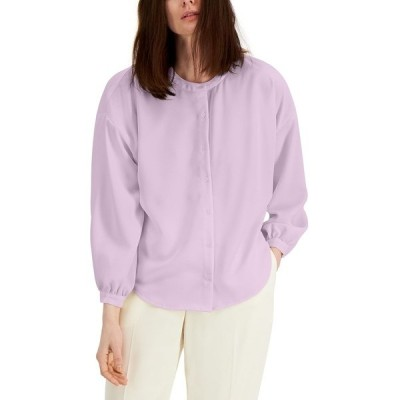 アルファニ カットソー トップス レディース Drop-Shoulder Button Top, Created for Macy's Lavender Rain
