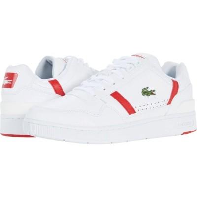 ラコステ Lacoste メンズ スニーカー シューズ・靴 T-Clip 0721 2 White/Red