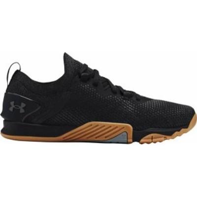 アンダーアーマー メンズ スニーカー シューズ Under Armour Men's TriBase Reign 3 Cross Training Shoes Black/Black/Grey