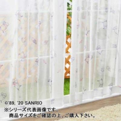 レースカーテン関連 サンリオ ポチャッコ レースカーテン 2枚セット 100×133cm SB-535-S