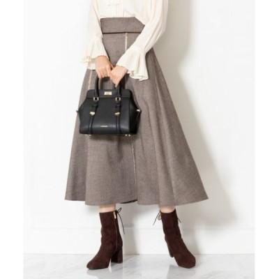 スカート 【WEB限定 サイズ:0】◆ツイードロングスカート
