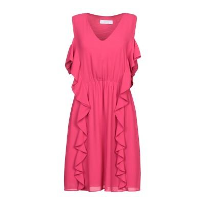 カオス KAOS ミニワンピース&ドレス フューシャ 42 ポリエステル 100% ミニワンピース&ドレス