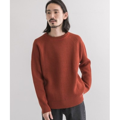 URBAN RESEARCH / Vincent et Mireille CREW NECK SWEATER 8GG AZE MEN トップス > ニット/セーター