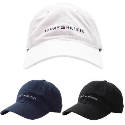 トミーヒルフィガー Tommy Hilfiger ストラップバック ゴルフ キャップ メンズ レディース ホワイト/ネイビー/ブラック