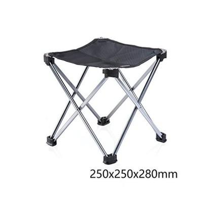 Outdoor Portable Folding Stool Chair Aluminum Alloy Folding Fishing Stool