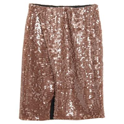 レリッシュ RELISH ミニスカート ミリタリーグリーン L コットン 98% / ポリウレタン 2% ミニスカート
