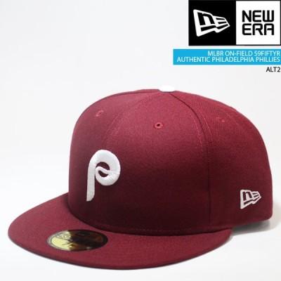 ニューエラ 帽子 キャップ NEWERA ON-FIELD 59FIFTY Philadelphia PHILLIES ALT2 オーセンティック[ZRC]