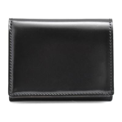 PRARE GINZA プレリーギンザ  コードバン 三つ折コンパクト財布(全2色) メンズ