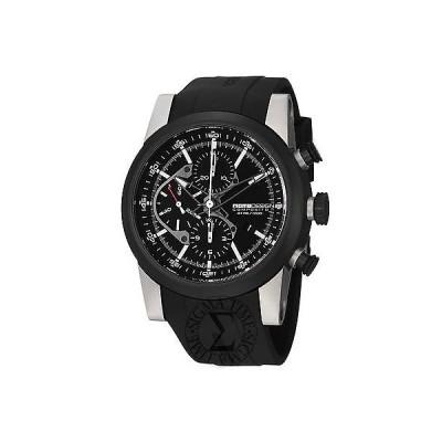 腕時計 モモデザイン Momo デザイン メンズ Composito ブラック ダイヤル ブラック ラバー ストラップ 腕時計 MD280TT-01BKBK