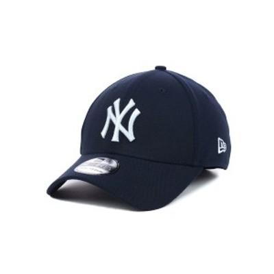 ニューエラ メンズ 帽子 アクセサリー New York Yankees MLB Team Classic 39THIRTY Stretch-Fitted Cap Navy