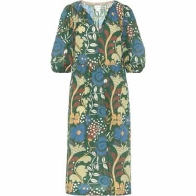 ベルベット グラハムandスペンサー Velvet レディース ワンピース ミドル丈 ワンピース・ドレス Virginia floral cotton midi dress Gree