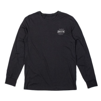Brixton Garth L/S T-Shirt Black S 送料無料