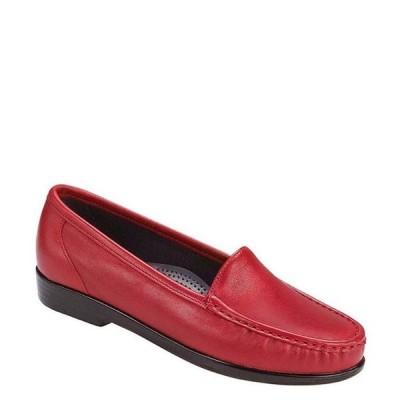 サス レディース パンプス シューズ Simplify Leather Moccasin Loafers