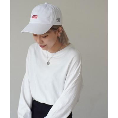 Port / 【 HeM / ヘム 】 フロント ロゴ 刺繍 キャップ MEN 帽子 > キャップ