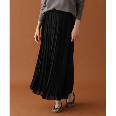 DRESSTERIOR(Ladies)(ドレステリア(レディース)) ◆AURALEE ウール混プリーツスカート