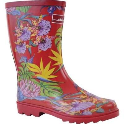 アヌシュカ レディース ブーツ・レインブーツ シューズ Mid-Calf Rain Boot
