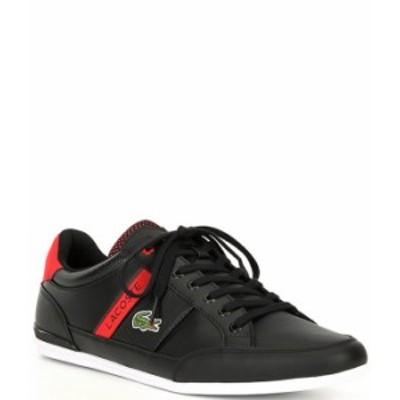 ラコステ メンズ スニーカー シューズ Men's Chaymon 120 2 Sneakers Black/Red