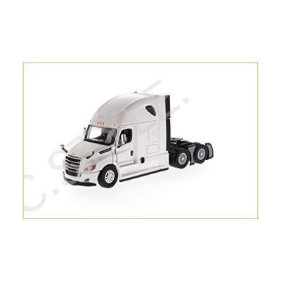 Freightler  Cascadia Sleeper Cab Truck Tractor Pearl ホワイト 1/50 Diecast モデル by Diecast Masters 71027