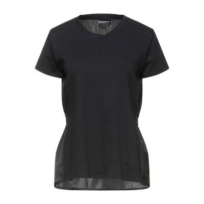 エンポリオ アルマーニ EMPORIO ARMANI T シャツ ブラック 38 コットン 100% / ポリエステル T シャツ