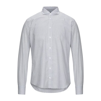 マエストラミ MAESTRAMI シャツ ホワイト M コットン 100% シャツ