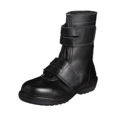 [ミドリ安全] 安全靴 JIS規格 マジックタイプ 長編上靴 ラバーテック RT735 ブラック 27.0 cm 3E