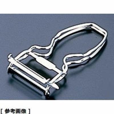 スリースノー BKW02 【メール便での発送商品】 ステンレスハンディ2枚刃ピーラー (両用)