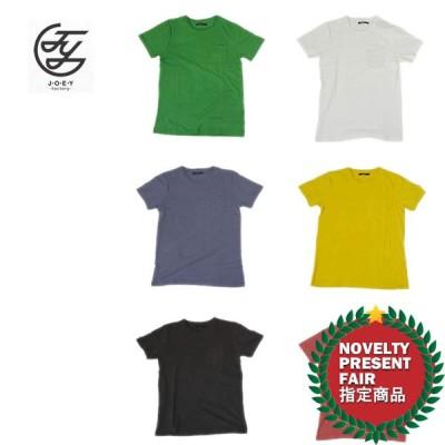 JOEY FACTORY / ジョーイファクトリー 14UN009 PIGMENT DYE C/N POCKET S/S TEE / ピグメント加工クルーネックTEE -全6色-