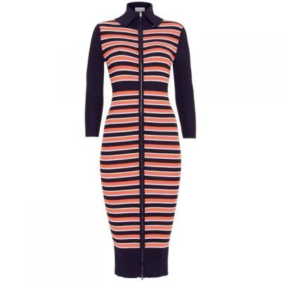 ダンセル Damsel in a Dress レディース ワンピース ワンピース・ドレス Mita Stripe Rib Knitted Dress Multi-Coloured
