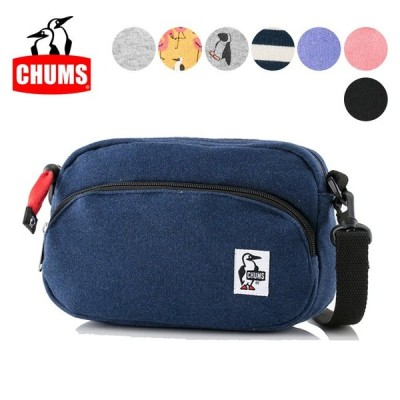 CHUMS チャムス Shoulder Pouch Sweat CH60-2701