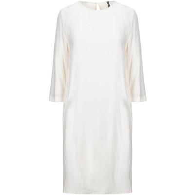 マニラ グレース MANILA GRACE ミニワンピース&ドレス アイボリー 42 レーヨン 100% ミニワンピース&ドレス