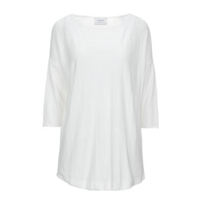 スノッビー シープ SNOBBY SHEEP T シャツ ホワイト 42 リネン 85% / ナイロン 15% T シャツ