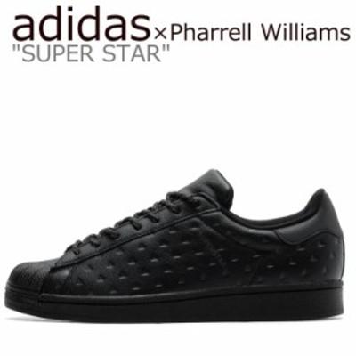 アディダス スーパースター スニーカー adidas SUPER STAR Pharrell Williams ファレル ウィリアムス BLACK GY4981 シューズ