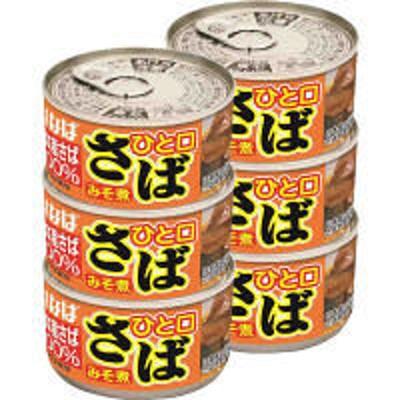 いなば食品いなば食品 ひと口さばみそ煮3缶入 1セット(2個)