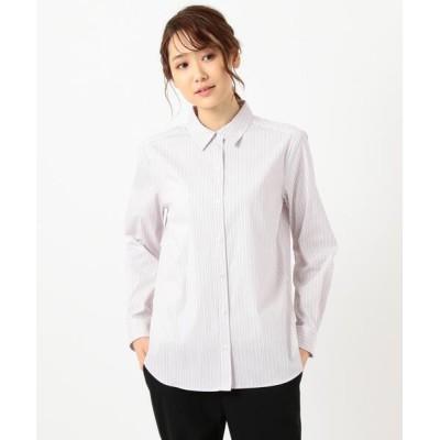 S size ONWARD(小さいサイズ) / 【洗える】SOMELOS JOYCE レギュラーカラー シャツ WOMEN トップス > シャツ/ブラウス