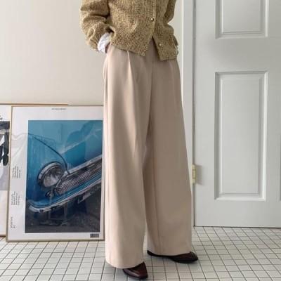 HEYLADY レディース パンツ Wenjeu Fleece-lined slacks
