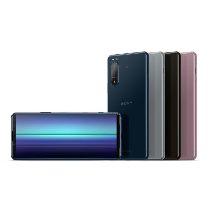【原廠保殼組】SONY Xperia 5 II 5G (8G/256G) 6.1吋三鏡頭智慧手機淨透藍