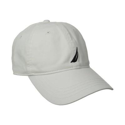 海外取寄品--Nautica HAT メンズ US サイズ: One Size カラー: ホワイト