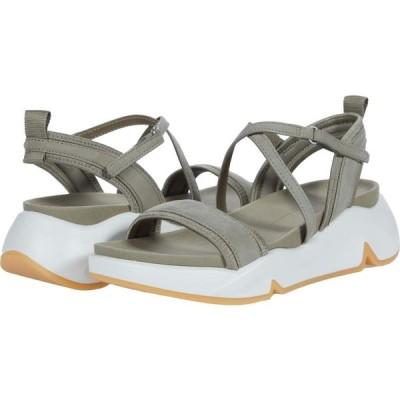 エコー ECCO レディース サンダル・ミュール シューズ・靴 Chunky Strap Sandal Vetiver/Vetiver Cow Nubuck/Textile