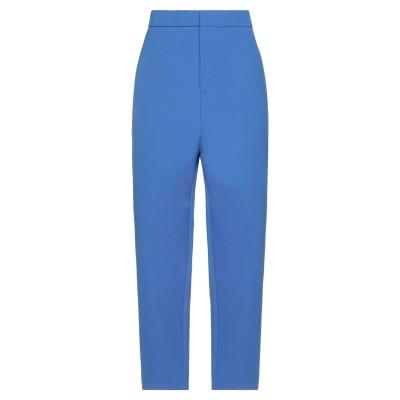 マルニ MARNI パンツ ブルー 40 コットン 70% / ポリエステル 30% パンツ