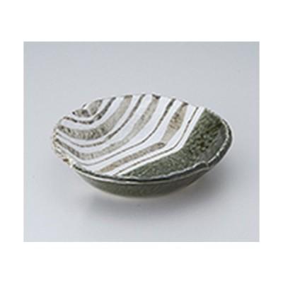 多用鉢 和食器 / 織部ストライプ6.5丸鉢 寸法:19 x 4.5cm