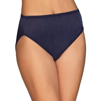 バニティフェア レディース パンツ アンダーウェア Illumination Hi Cut Panties (Regular & Plus Size)