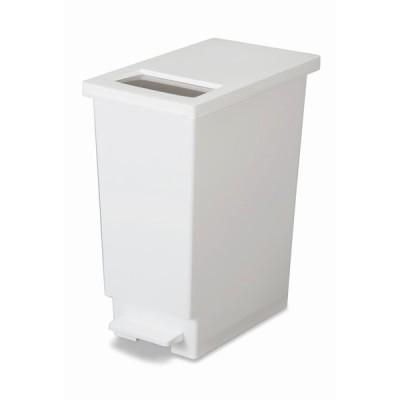 トンボ ユニード プッシュ & ペダル 45S ホワイト 【 TONBO 白 ダストボックス ごみ箱 】