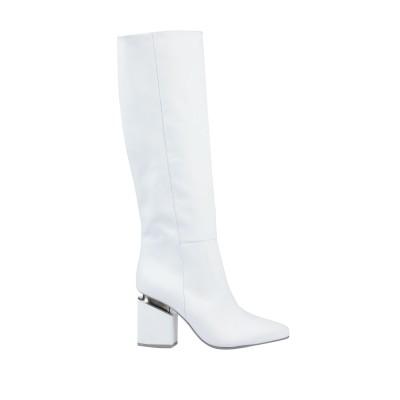 VIC MATIĒ ブーツ ホワイト 36 革 ブーツ