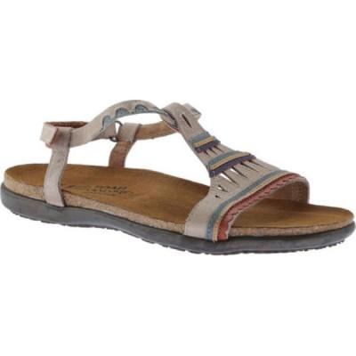 ナオト Naot レディース サンダル・ミュール シューズ・靴 Odelia Sandal Khaki Beige/Sea Green Leather