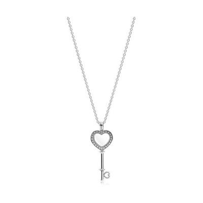 【PANDORA】パンドラ Floating Locket Heart Key Necklace