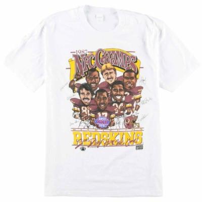 80年代 ワシントンレッドスキンズ Tシャツ USA製 M /eaa068116