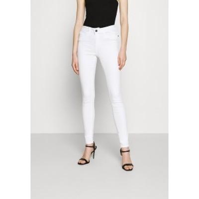 ノイジーメイ レディース デニムパンツ ボトムス NMLUCY  - Jeans Skinny Fit - bright white bright white