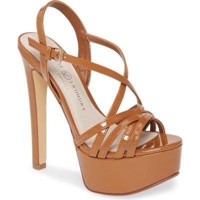チャイニーズランドリー CHINESE LAUNDRY レディース サンダル・ミュール シューズ・靴 Teaser2 Platform Sandal Toffee Patent Leather