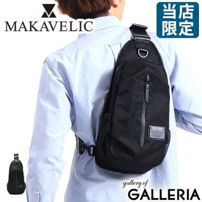 ネックフェスポーチプレゼント 当店限定モデル マキャベリック ボディバッグ MAKAVELIC ワンショルダー COCOON BODY BAG BLACKEDITION メンズ 別注 G3106-10303